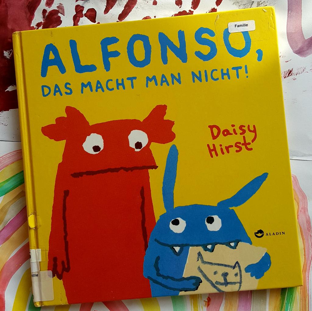 """Buch-Titel: """"Alfonso, das macht man nicht!"""""""